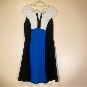 Bethany color block dress